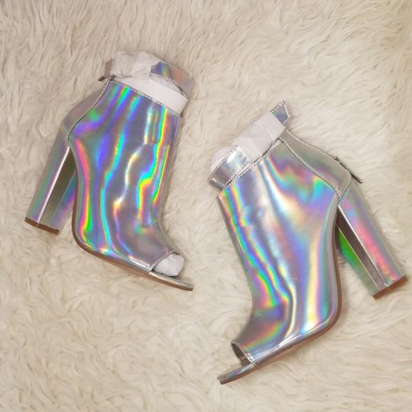 PINK Victoria's Secret Shoes - Victoria Secret Hologram Heel